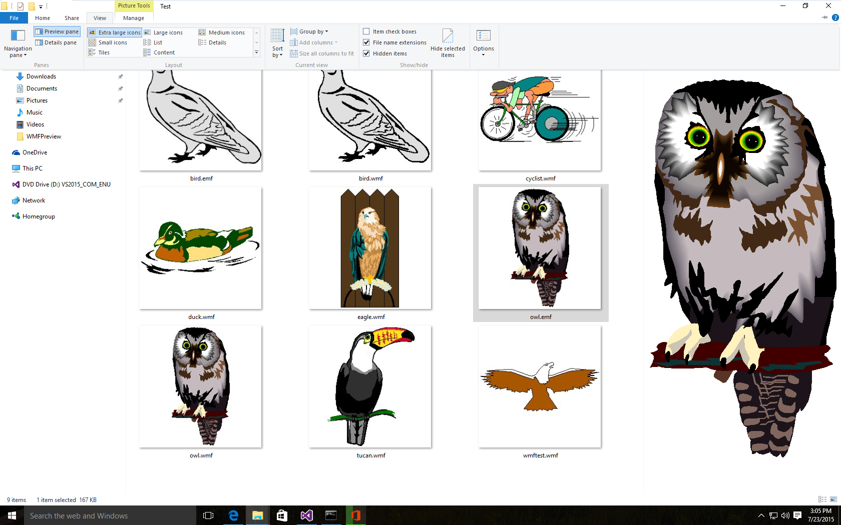 Pc my cliparts are not showing in preview clip art royalty free library Preview WMF and EMF images in Windows File Explorer — Karel Donk clip art royalty free library