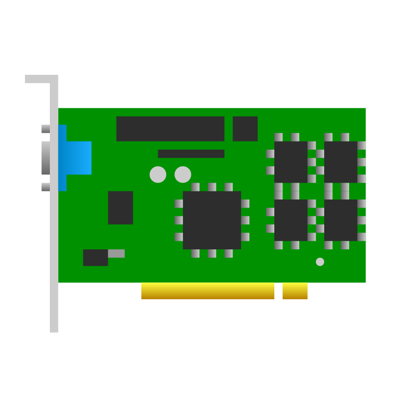 Pci clipart png library stock Free Clipart: PCI video card icon | jhnri4 png library stock