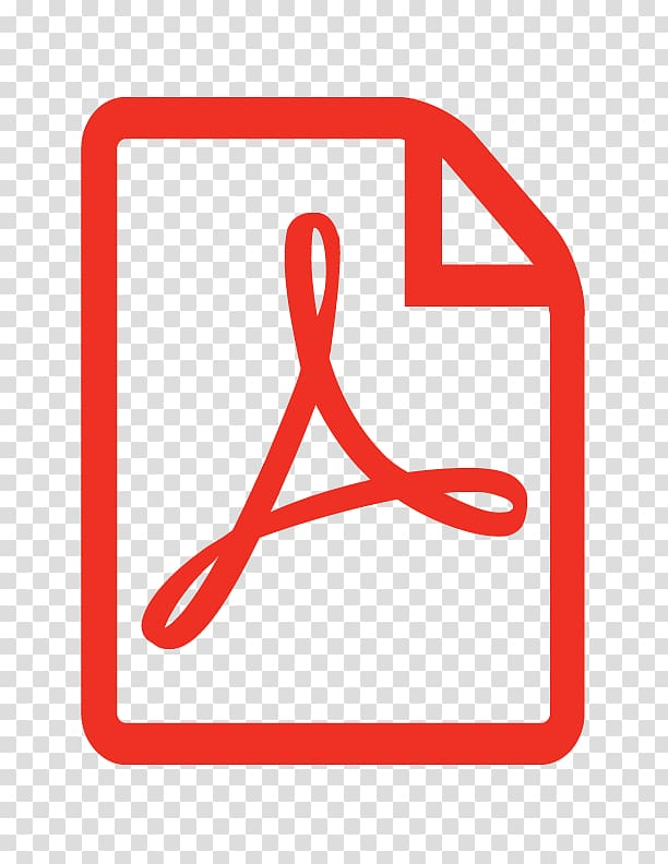 Pdf jpg clipart png black and white Red Adobe PDF logo, PDF Computer Icons Adobe Acrobat ... png black and white
