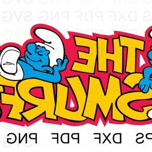 Pdf jpg clipart banner download The Smurfs Svg Eps Jpg Png Clipart   CQRecords banner download