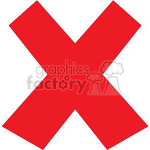 Pdf jpg clipart clip freeuse library red x clipart. Royalty-free clipart # 379606 clip freeuse library