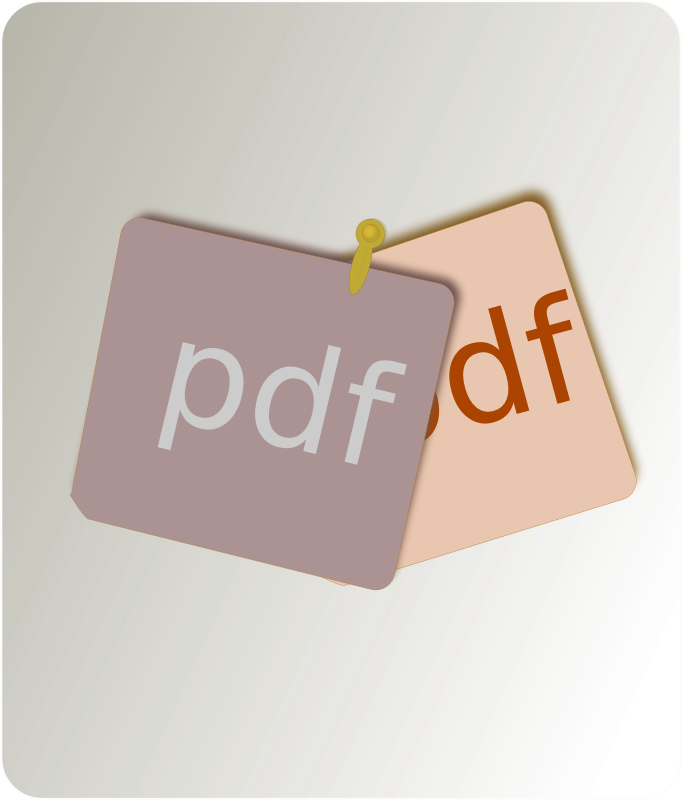 Pdf merge clipart png freeuse download Free Clipart: PDF Merge   mkhuda png freeuse download