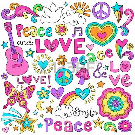 Peace and love clipart clipart freeuse download 24,701 Peace And Love Cliparts, Stock Vector And Royalty Free ... clipart freeuse download