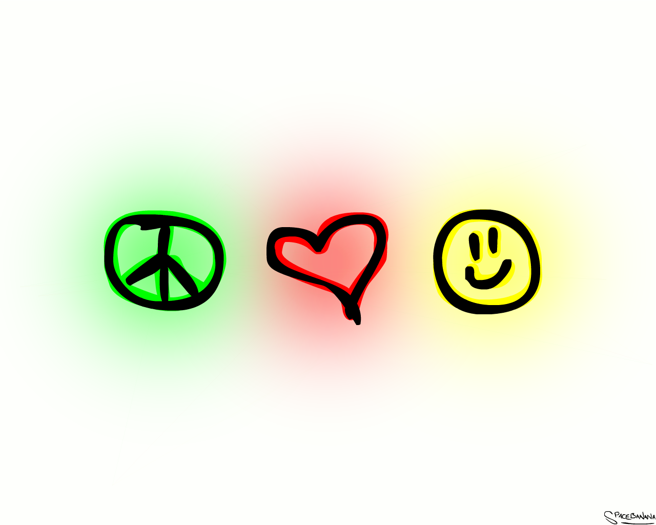 Peace and love clipart svg free library Peace love happiness clipart picsart - ClipartFest svg free library