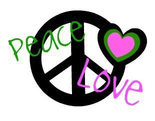 Peace and love clipart clip art free stock Clipart peace and love - ClipartFest clip art free stock