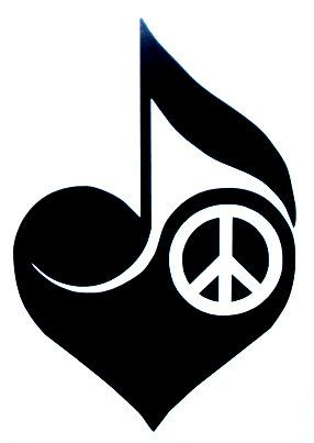 Peace love music clipart free clip freeuse download peace, love, and music- Would be a good tattoo ... maybe a butterfly ... clip freeuse download
