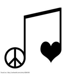 Peace love music clipart free jpg freeuse stock 41 Best Peace, Love and Music images in 2013 | Peace, love, Give ... jpg freeuse stock