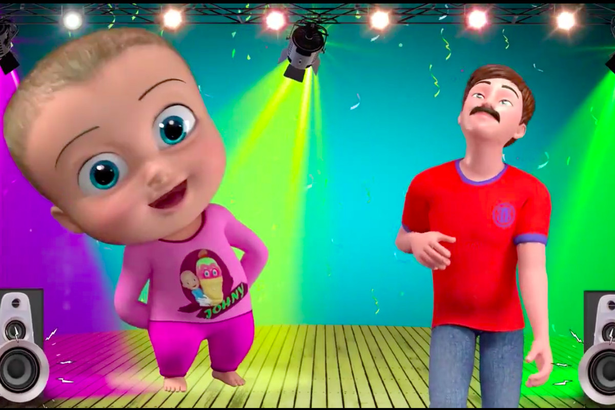 "Peace love music dance cartoon clipart black and white clip stock Johny Johny Yes Papa"": a meme born of YouTube\'s kids\' video ... clip stock"