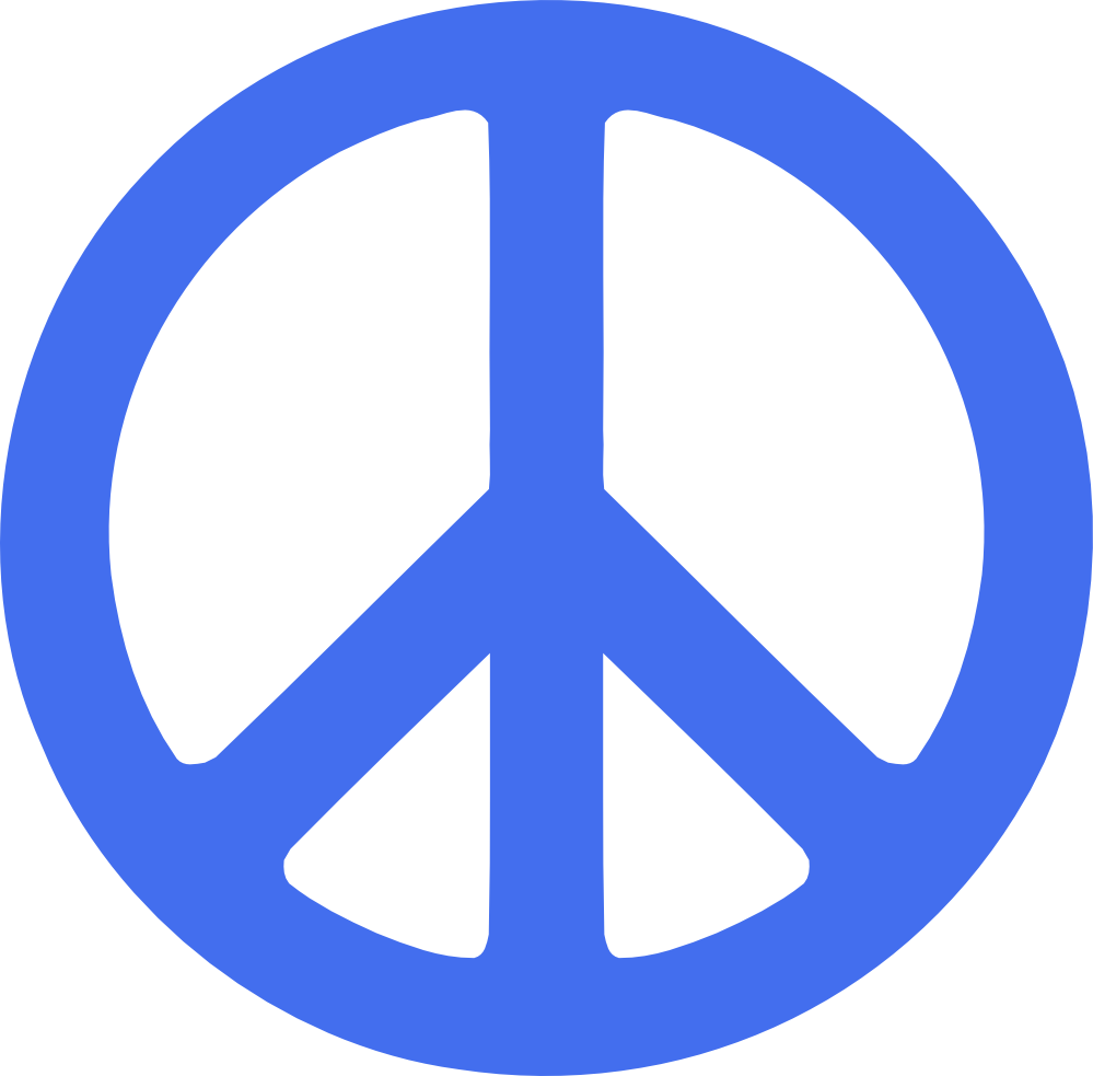 Peace sign clipart banner free download Graphics SVG Peace Sign | Clipart Panda - Free Clipart Images banner free download