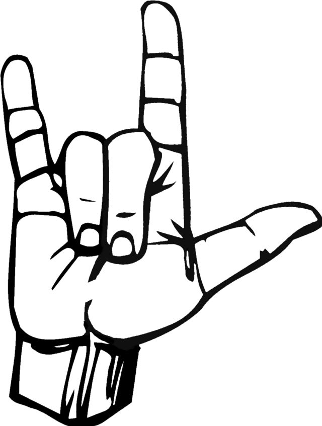 Peace sign language logo clipart graphic black and white library Cartoon Peace Sign Hand Clipart | Free download best Cartoon Peace ... graphic black and white library