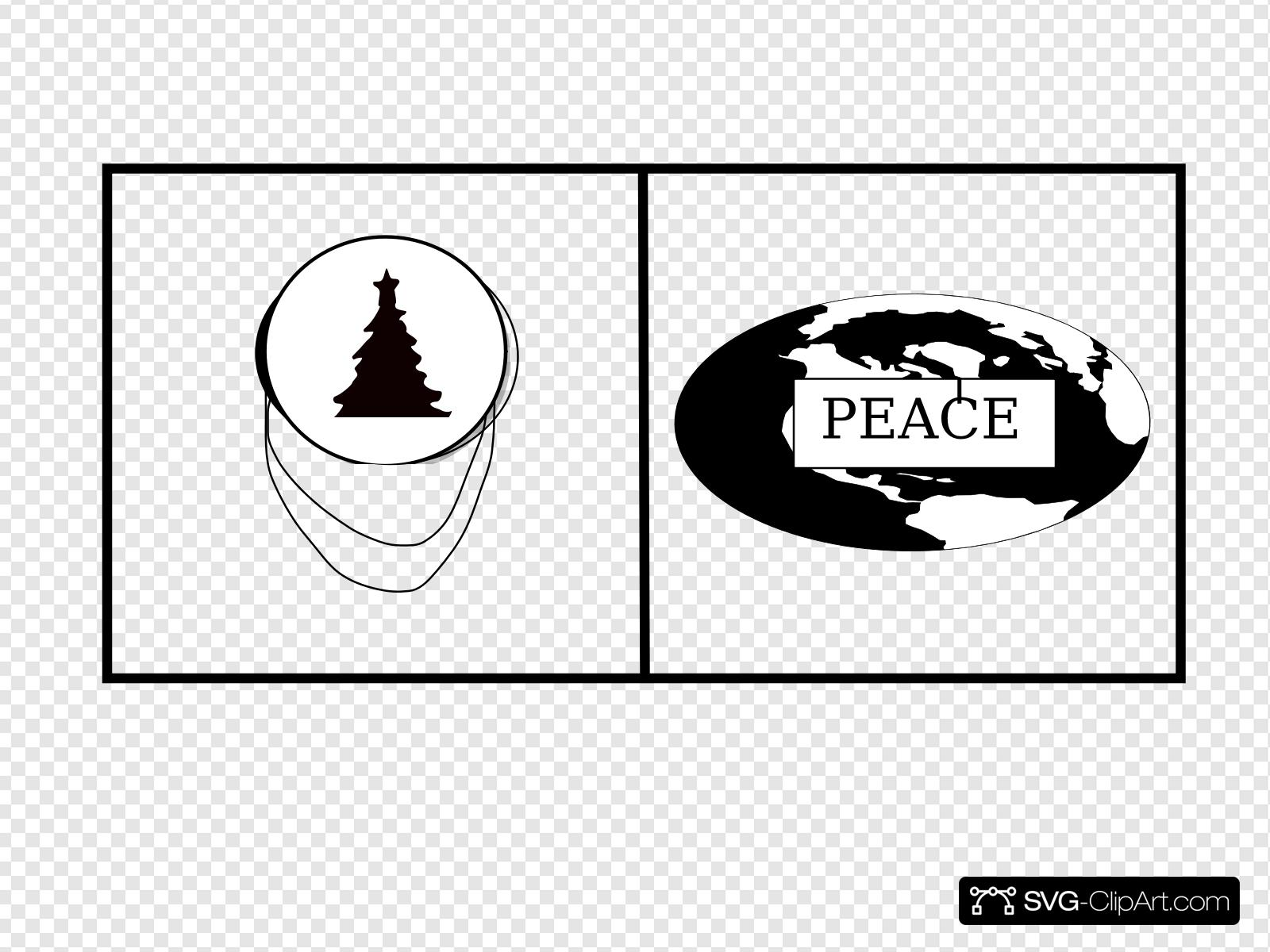 Peace tree clipart banner stock World Peace Tree Clip art, Icon and SVG - SVG Clipart banner stock