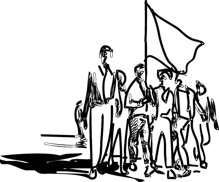 Peaceful protest clipart svg black and white Peaceful protest clipart 8 » Clipart Station svg black and white