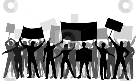 Peaceful protest clipart graphic black and white Peaceful protest clipart 5 » Clipart Station graphic black and white