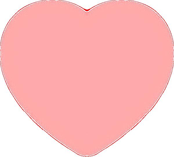 Pink heart clipart png banner stock Fuzzy Pink Heart Clip Art at Clker.com - vector clip art online ... banner stock