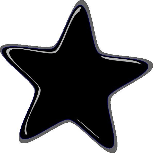 Peach star clipart graphic Black Star Clip Art at Clker.com - vector clip art online, royalty ... graphic