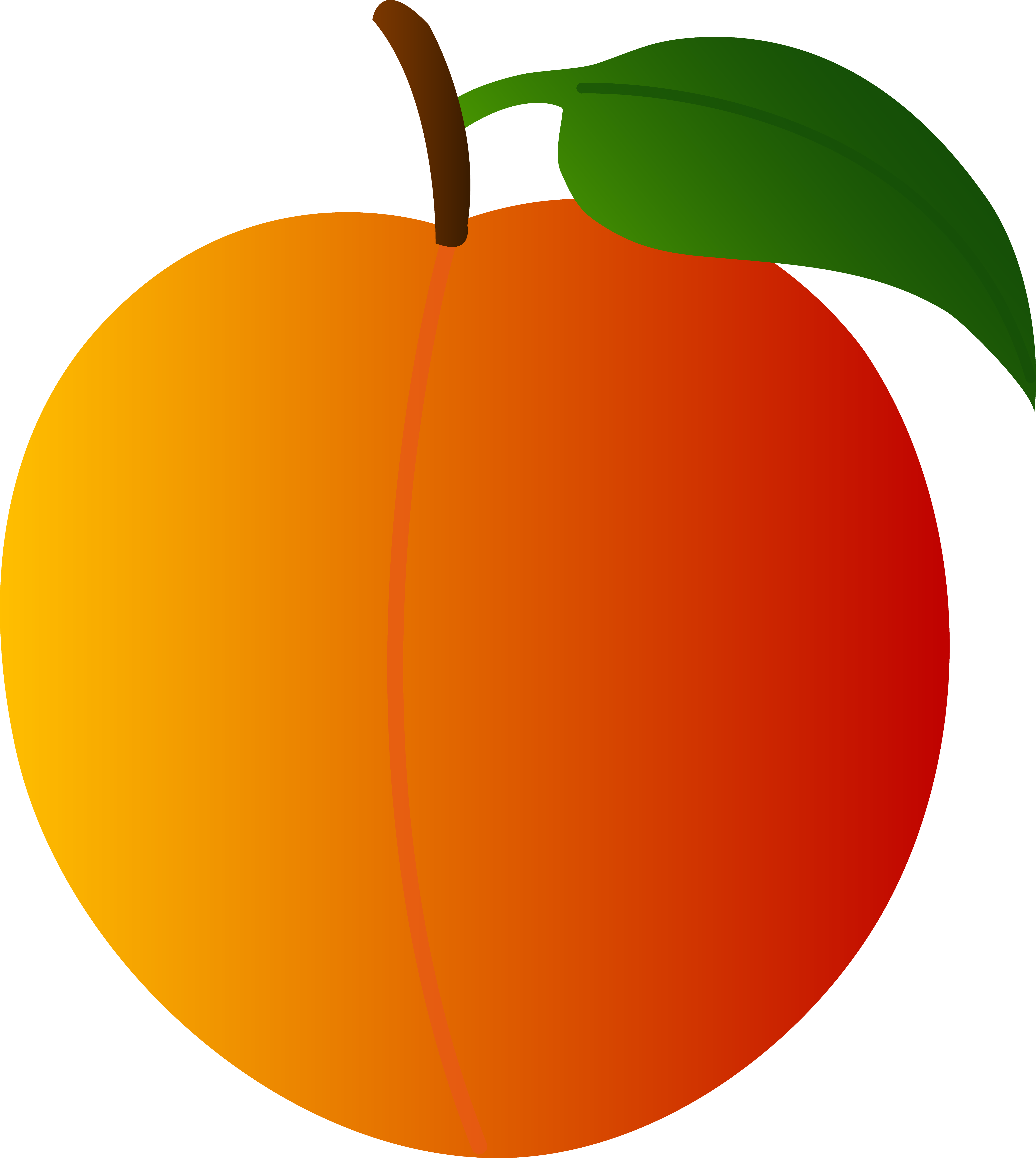 Peaches clipart banner royalty free library Free Peach Cliparts, Download Free Clip Art, Free Clip Art on ... banner royalty free library