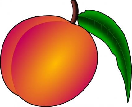 Peaches clipart clip art freeuse Peach Clip Art Free | Clipart Panda - Free Clipart Images clip art freeuse