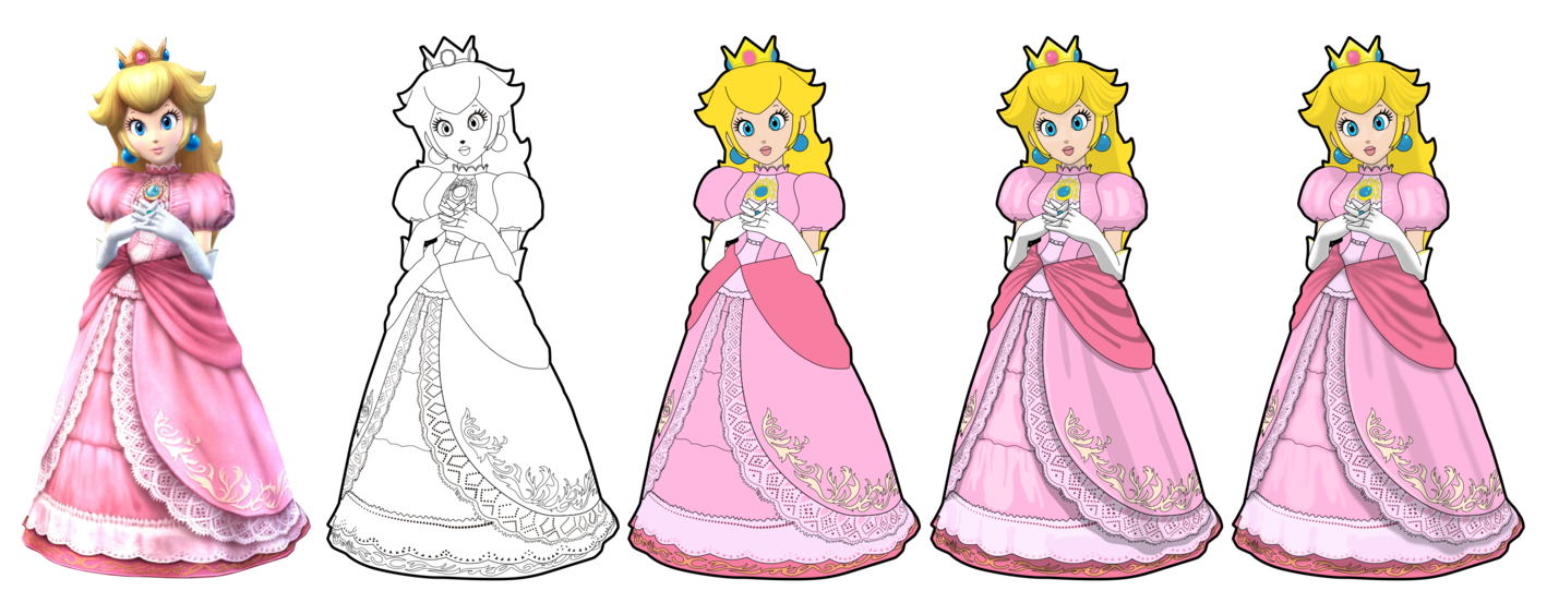 Library Of Princess Peach Crown Graphic Transparent Library