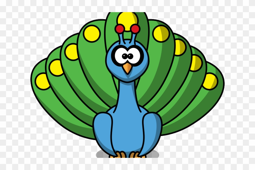 Peacock clipart pictures svg royalty free Peafowl Clipart Beautiful Peacock - Peacock Cartoon, HD Png ... svg royalty free