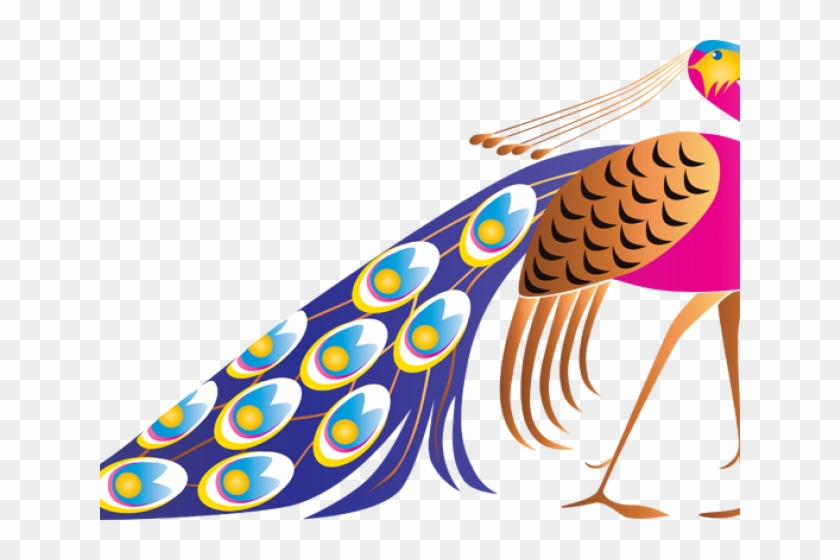Peacock clipart vector svg royalty free library Peacock Clipart Cute - Peacock Vector, HD Png Download - 640x480 ... svg royalty free library