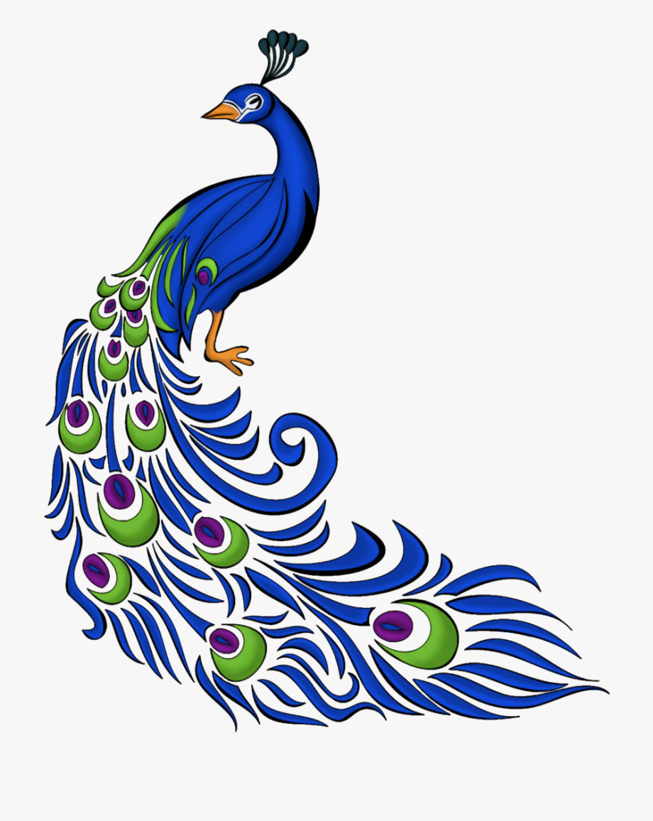 Peacock design clipart banner freeuse stock Feathers Clipart Artistic - Peacock Png Clipart #88144 ... banner freeuse stock