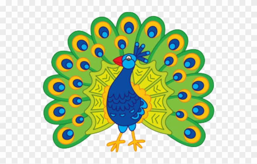 Peacokc clipart transparent stock Peacock Clipart Art Competition - Cartoon Image Of Peacock - Png ... transparent stock