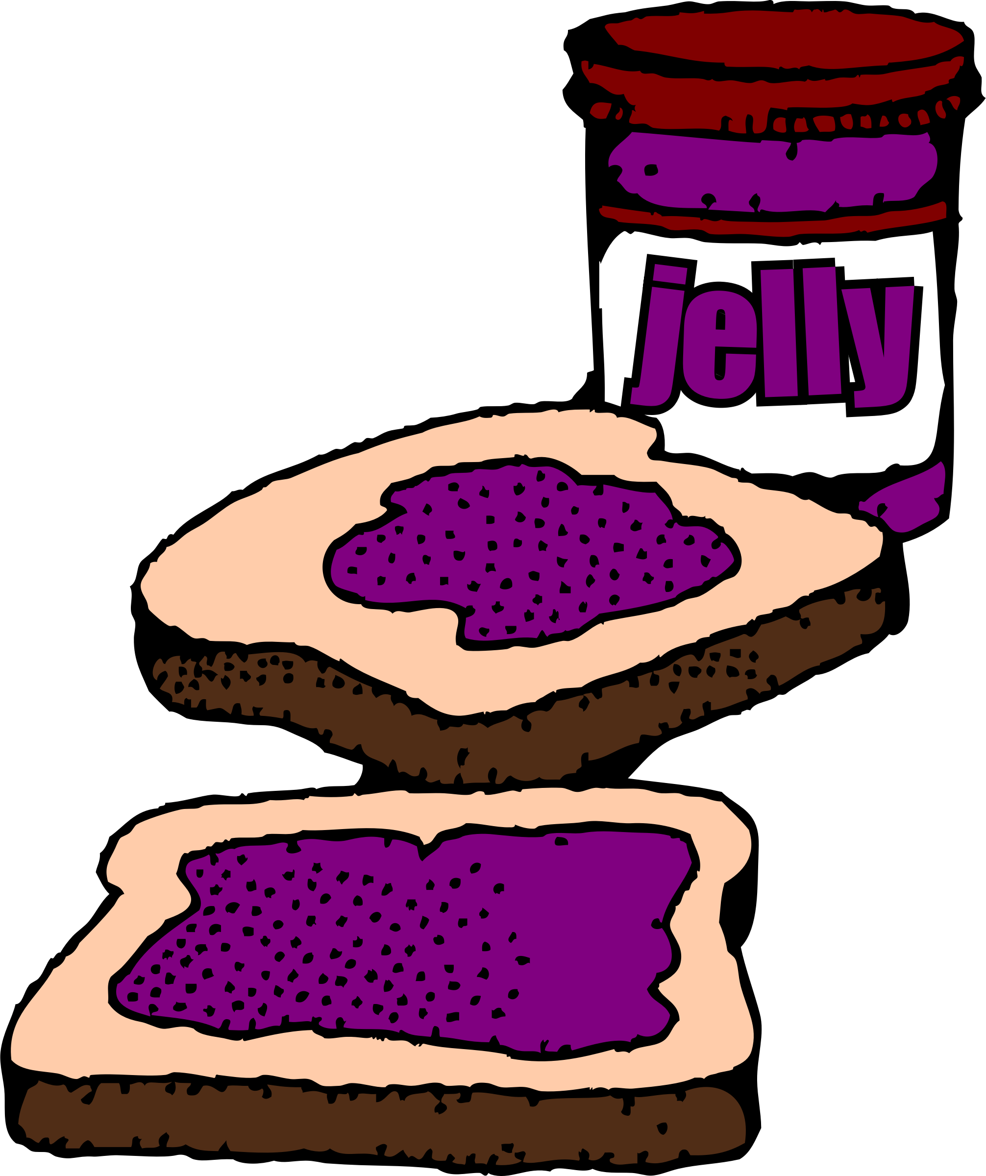 Peanut butter and jelly public domain free clipart free library Sub clip art - vector clip art online, royalty free public domain ... free library