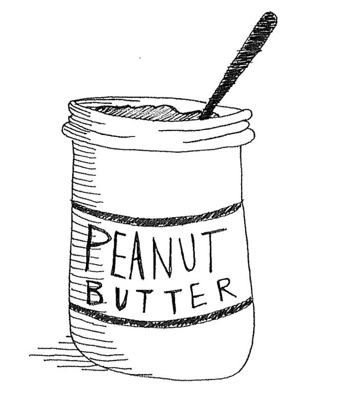 Peanut butter clipart black and white clip royalty free stock Free Peanut Butter Cliparts, Download Free Clip Art, Free ... clip royalty free stock