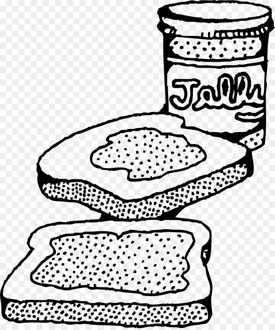 Peanut butter clipart black and white png library library Book Black And White clipart - Sandwich, transparent clip art png library library