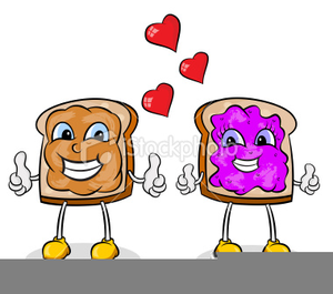 Peanut butter jelly sandwich clipart clip black and white stock Peanut Butter And Jelly Sandwich Clipart | Free Images at Clker.com ... clip black and white stock