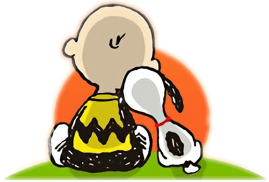 Peanut halloween clipart transparent library snoopy peanut charliebrown tramonto sera evening goodev... transparent library