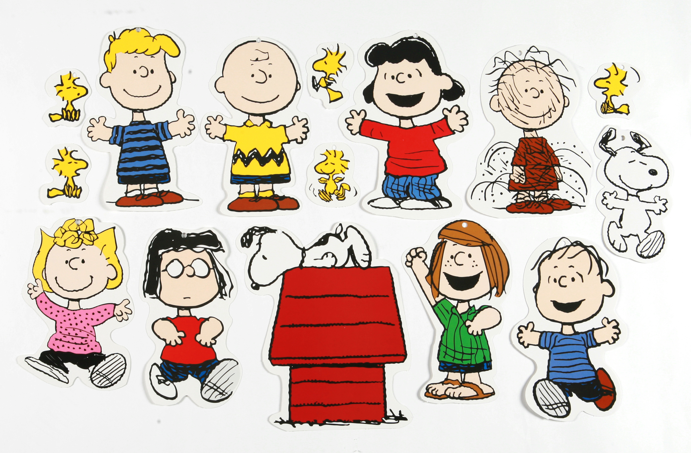 Peanuts characters clipart