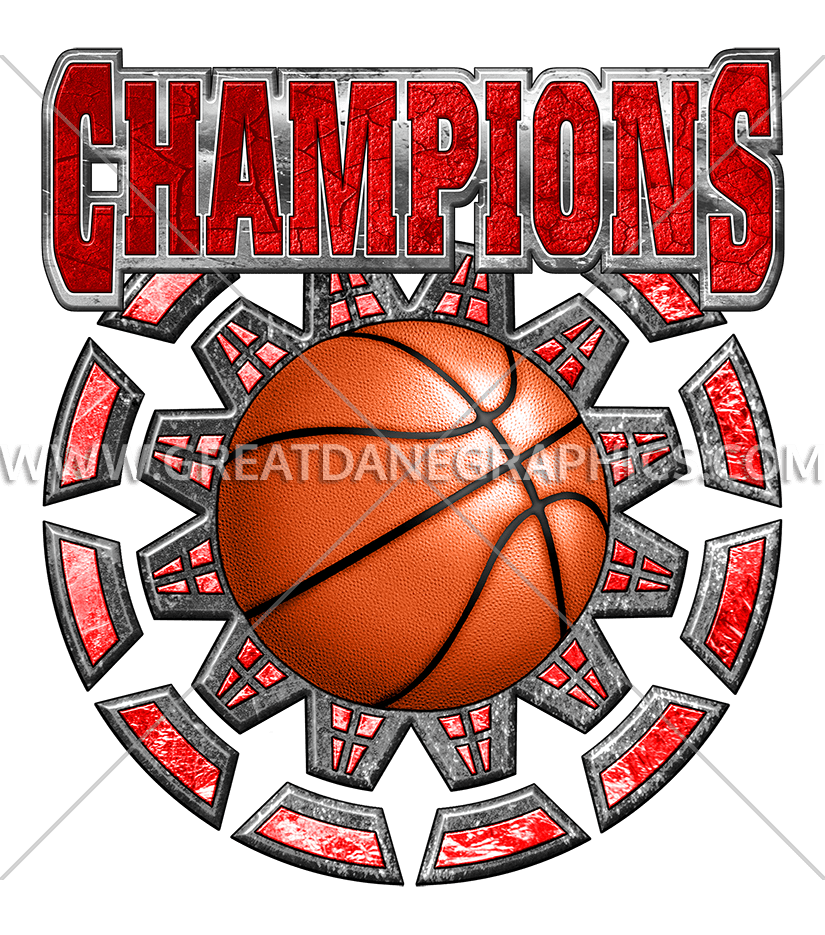 Pearl colored basketball clipart banner library stock Basketball Champions | Production Ready Artwork for T-Shirt Printing banner library stock