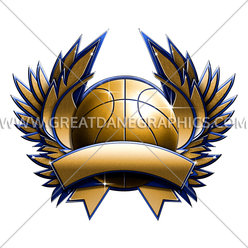 Pearl colored basketball clipart graphic freeuse download Basketball Metal Crest | Production Ready Artwork for T-Shirt Printing graphic freeuse download