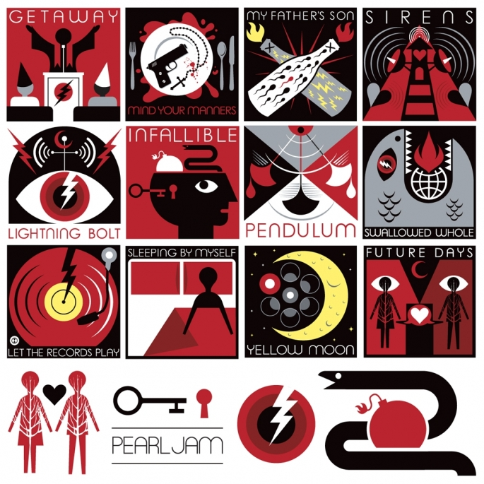 Pearl jam logo clipart clip art download Who did the artwork for Pearl Jam\'s Lightning Bolt album ... clip art download