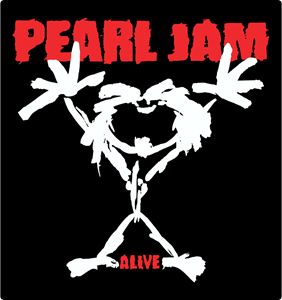 Pearl jam logo clipart png library download Pearl Jam Alive Logo Vector (.CDR) Free Download png library download