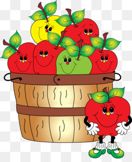Peck of apples clipart clipart library stock Bushel png free download - Apples Cartoon - bushel png peck clipart library stock