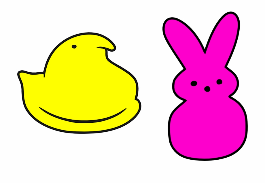 Peep clipart graphic free download Vector Royalty Free Image Result For Peeps Chick Template ... graphic free download