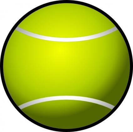 Pelota de tenis clipart png royalty free library Simple Tennis Ball clip art clip arts, free clip art - ClipartLogo.com png royalty free library