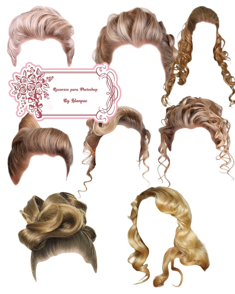 Pelucas clipart para photoshop svg royalty free stock Recursos Photoshop Llanpac: Coleccion de clipart de pelucas ... svg royalty free stock