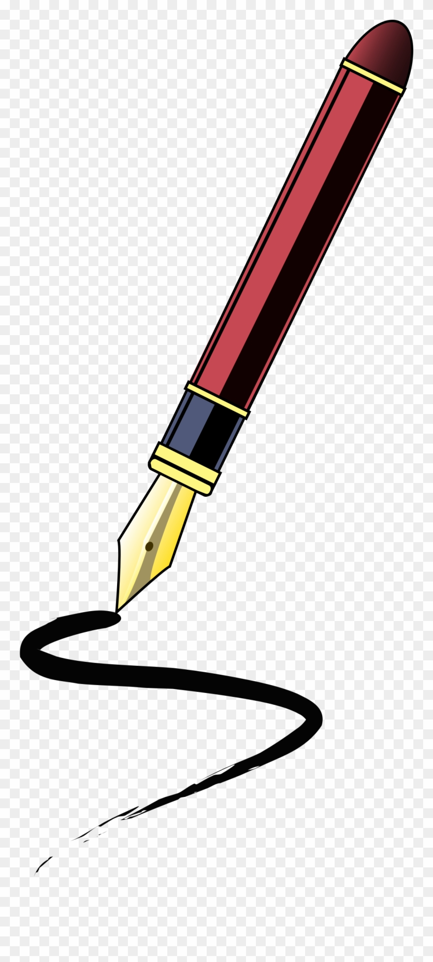 Pen clipart image graphic free stock Pen Clipart Journalist - Pen Clip Art - Png Download ... graphic free stock
