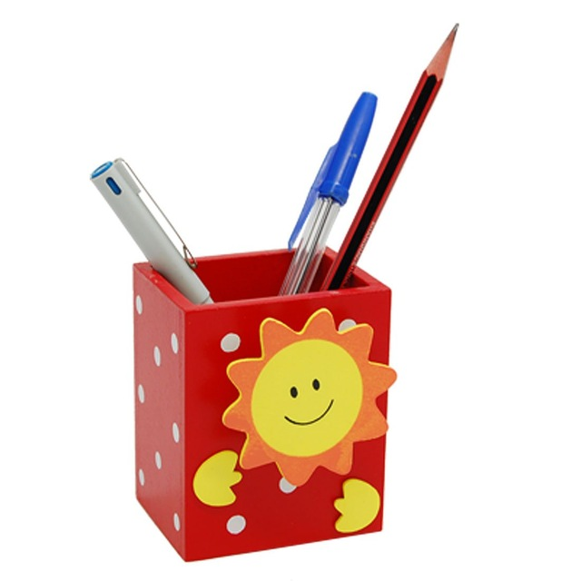 Pen holder clipart freeuse library US $1.35 19% OFF|Smile Sun Red Wooden Pencil Pen Holder with Memo Clip-in  Pen Holders from Office & School Supplies on Aliexpress.com | Alibaba Group freeuse library