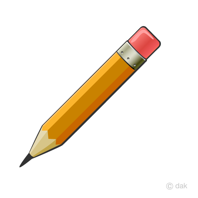Pencel clipart jpg library download Pencil with Eraser Clipart Free Picture|Illustoon jpg library download