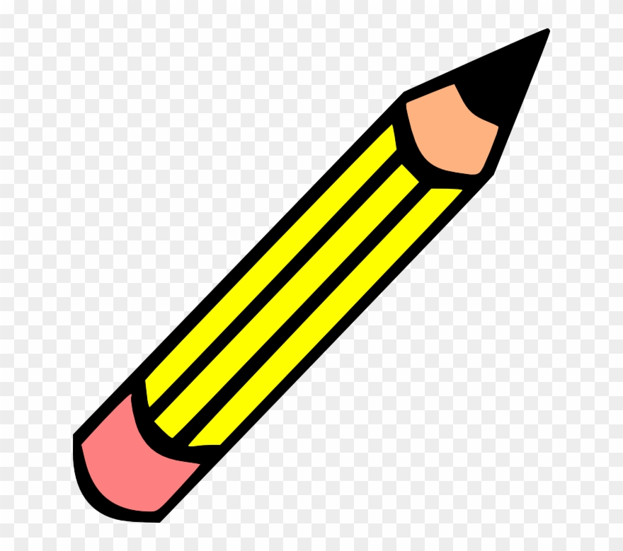 Pencel clipart freeuse library Paper And Pencil Pencil Clipart - Imagenes De Utiles ... freeuse library