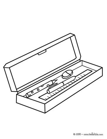 Pencil case clipart free image transparent Locker And Pencil Clipart - Clipart Kid image transparent