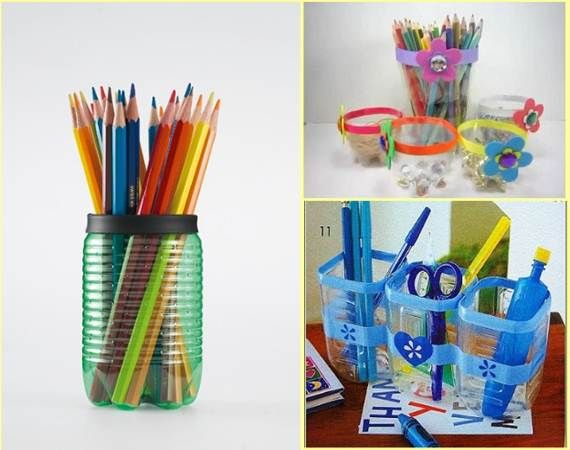 Pencil case made out of plastic bottle clipart picture transparent stock DIY 9 Creative Ways of Recycling Plastic Bottles | Cool Creativity ... picture transparent stock
