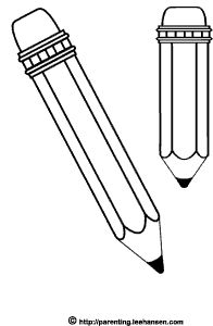 Pencil clipart size clip royalty free Two pencils clipart - ClipartFest clip royalty free