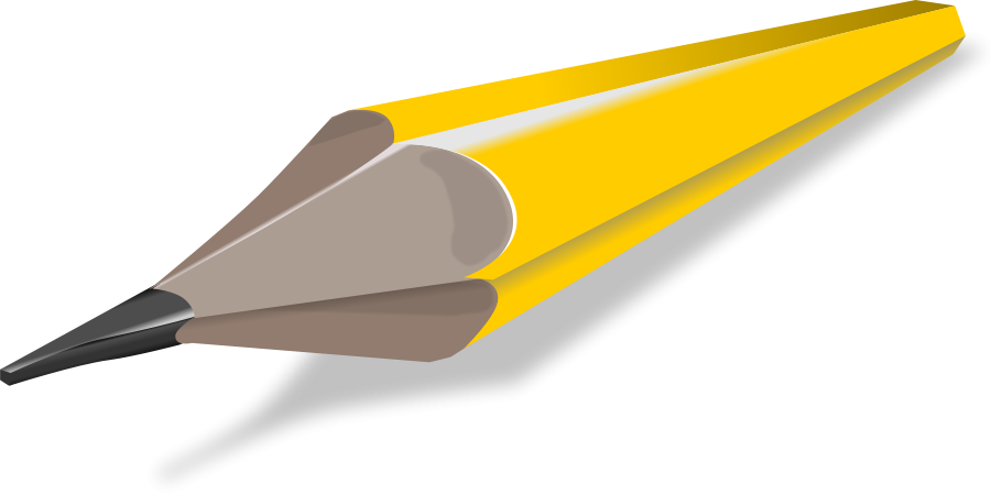 Pencil clipart size image library library Pencil small clipart 300pixel size, free design - ClipartsFree image library library