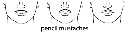 Pencil thin mustache clipart clipart royalty free Style Guide | American Mustache Institute clipart royalty free