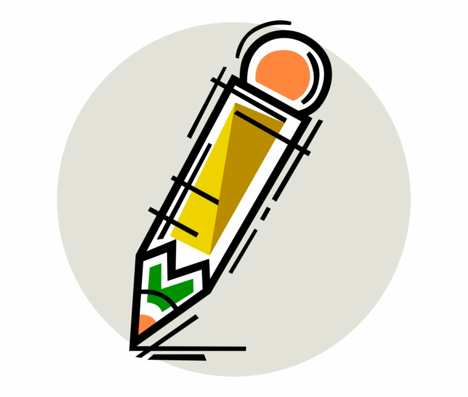 Pencil wrting circal clipart image freeuse stock Vector Illustration Of Graphite Pencil Writing Or Drawing ... image freeuse stock